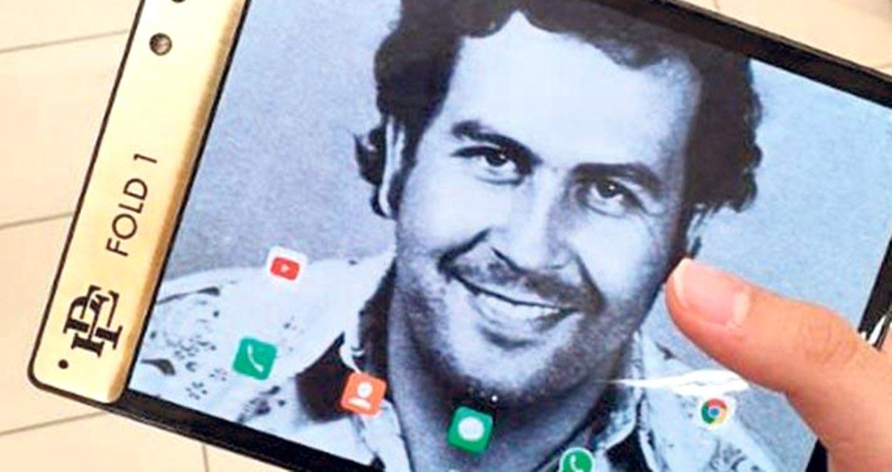 Photo of Uyuşturucu baronu Pablo Escobar'ın kardeşi 350 dolarlık zeki telefonunu piyasaya sürdü