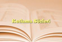 Photo of Kutlama Sözleri