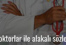 Photo of Doktorlar ile alakalı sözler