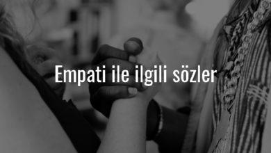 Photo of Empati İle İlgili Sözler