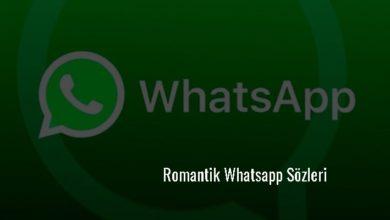 Photo of Romantik Whatsapp Sözleri