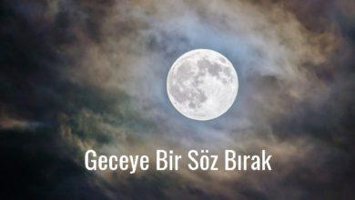 Photo of Geceye Bir Söz Bırak Kısa – Geceye güzel söz resimli