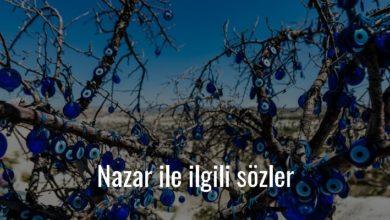 Photo of Nazar İle İlgili Sözler Kısa – Nazar Sözleri Güzel