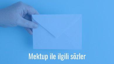 Photo of Mektup İle İlgili Sözler Kısa – Mektup sözleri resimli