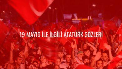 Photo of 19 Mayıs sözleri ve mesajları: Resimli, en güzel 19 Mayıs Atatürk'ü Anma, Gençlik ve Spor Bayramı kutlama mesajları