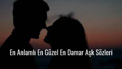 Photo of En Anlamlı En Güzel En Damar Aşk Sözleri