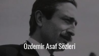 Photo of Özdemir Asaf Sözleri