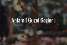 Photo of Anlamli Guzel Sozler