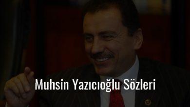 Photo of Muhsin Yazıcıoğlu Sözleri